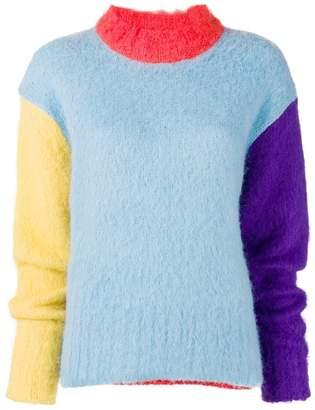 Neul oversized colour block sweater