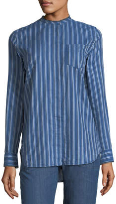 A.P.C. Ruby Striped Tunic Blouse