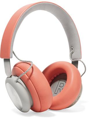 B&O Play - H4 Wireless Leather And Aluminium Headphones - Orange