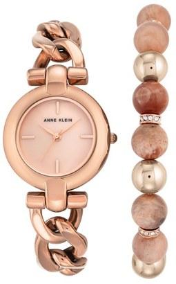 Anne Klein Watch & Bracelet Set, 30mm $125 thestylecure.com