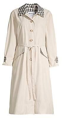 Barbour Women's x Alexa Chung Glenda Gingham Collar Jacket