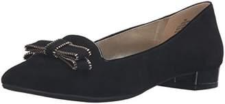 Anne Klein Women's Keana Suede Pointed Toe Flat