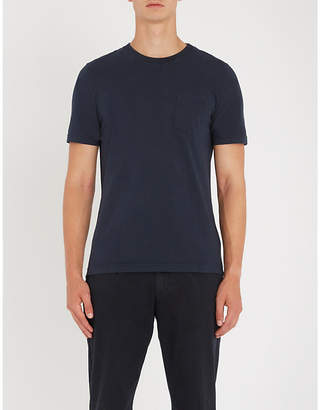 Eleventy Patch pocket cotton-jersey T-shirt
