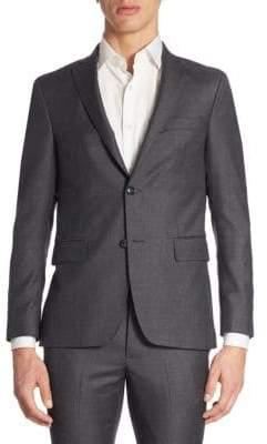 Officine Generale Flannel Wool Blazer