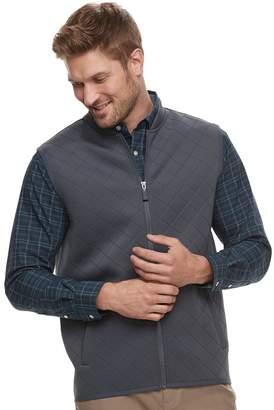 Haggar Men's Regular-Fit In-Motion Stretch Vest