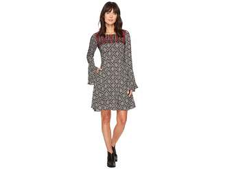 Stetson 1311 Paisley Print Swing Dress Women's Dress