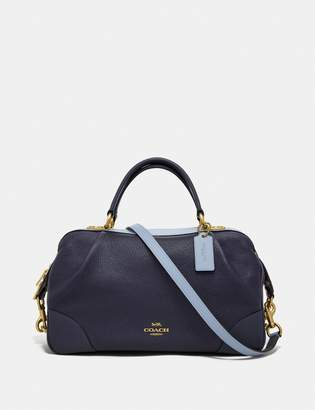 Coach Lane Satchel In Colorblock