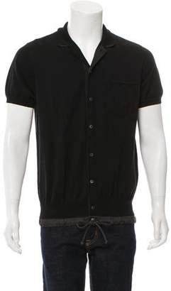 Sacai Button-Up Polo Shirt