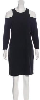 232ccc26b9 MICHAEL Michael Kors Cold Shoulder Knee-Length Dress