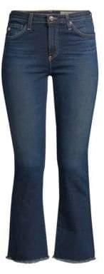 AG Jodi High-Rise Crop Flare Jeans