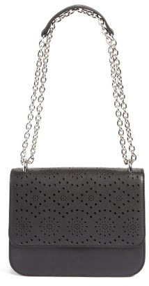 Chelsea28 Dahlia Perforated Faux Leather Shoulder Bag - Black $69 thestylecure.com