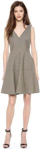 No.21 No. 21 Gingham Full Skirt Dress