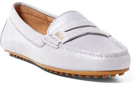Ralph Lauren Lauren Belen Leather Loafer