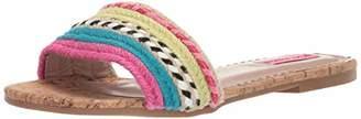 Betsey Johnson Women's Marve Flat Sandal, 10 M US
