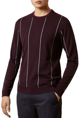 Ted Baker Chikfee Striped Crewneck Sweater