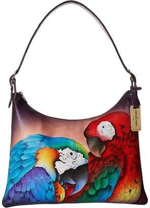 Anuschka 605 Slim Large Hobo Handbags