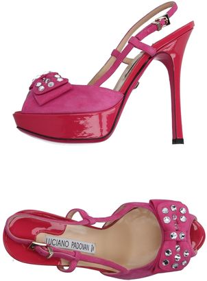 LUCIANO PADOVAN Sandals $474 thestylecure.com