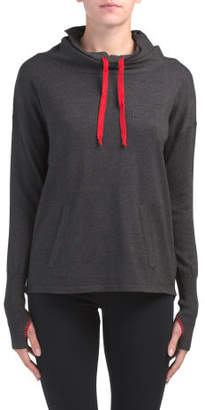 Active Oversized Cowl Neck Sweater