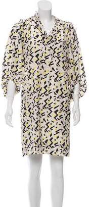 Diane von Furstenberg Bairly Louche Mini Dress