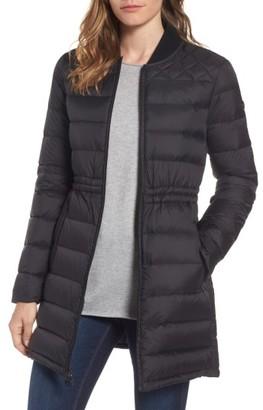 Women's Michael Michael Kors Packable Knit Trim Anorak $168 thestylecure.com