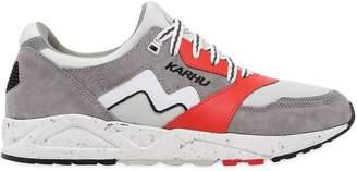Karhu Aria Faux Suede & Nylon Sneakers