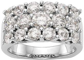 MODERN BRIDE Womens 3 CT. T.W. White Diamond 14K Gold Wedding Band