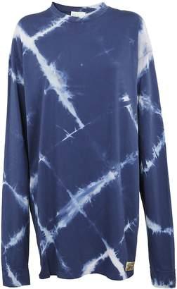 Aries Argyle Sweatshirt Dress