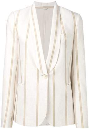 Brunello Cucinelli striped blazer