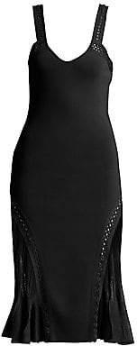 Roberto Cavalli Women's Knit Scoopneck Fit-&-Flare Dress