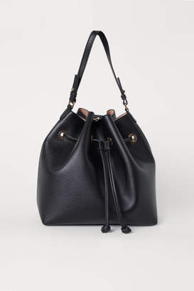 H&M Large Bucket Bag - Black