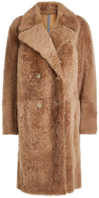 Yves Salomon Lacon Shearling Coat