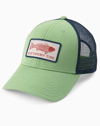 Southern Tide Fish Series Red Fish Patch Trucker Hat