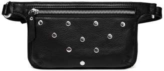 Vicenzo Leather Jacey Studded Leather Waist Bag