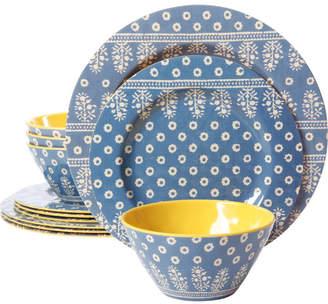 ... Gibson Studio California By Laurie Gates Melamine Zoey 12 Piece Dinnerware Set Service for 4  sc 1 st  ShopStyle & Gibson Bowls Sets - ShopStyle