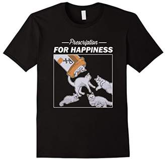 Prescription for Happiness is Several Cats Cat Lover T-Shirt