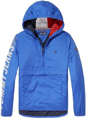Tommy Hilfiger Boys Hooded Pop Over Jacket