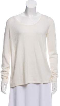 L'Agence Scoop Neck Long Sleeve Sweater w/ Tags