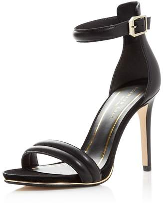 Kenneth Cole Brooke Ankle Strap High Heel Sandals $130 thestylecure.com