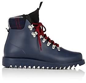 Barneys New York Women's Neoprene-Insert Rain Boots-Navy