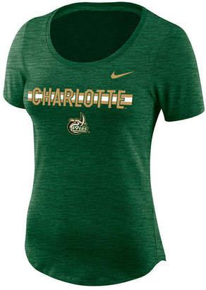 Nike Women's Charlotte 49ers Dri-fit Slub T-Shirt