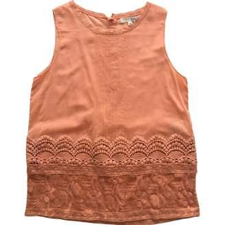 BA&SH Bash Orange Cotton Top for Women