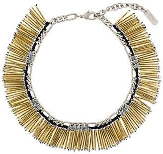 Rada' Radà fringed beaded necklace