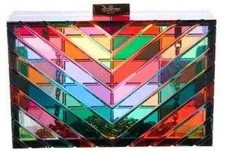 Valentino Lucite Box Clutch