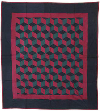 One Kings Lane Vintage Geometric Quilt