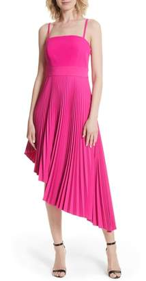 Milly Eliza Pleated Asymmetrical Sundress