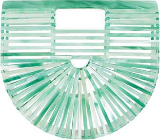 Cult Gaia Ark Mini Half Sea Glass Bag