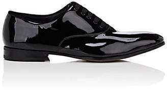 Salvatore Ferragamo Men's Patent Leather Balmorals - Black