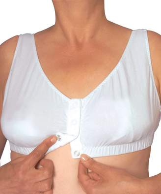 Silverts Disabled Elderly Needs Easy On Snap Front Closure Bra - Front Opening Bra - 2XL