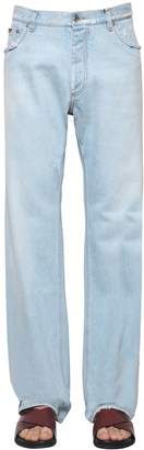 Dolce & Gabbana Loose Cotton Denim Jeans