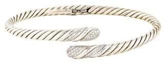 David Yurman Diamond Willow Single Row Bracelet
